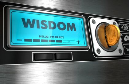 Don't suffer your way to wisdom